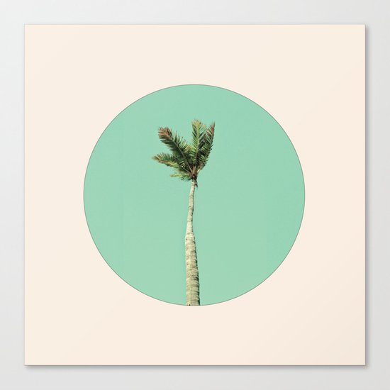 The Palm Life Canvas Print