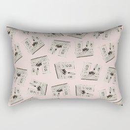 Paris Arc de Triomphe de l'Étoile Travel Poster Rectangular Pillow
