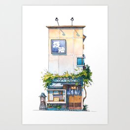 Tokyo storefront #10 Art Print