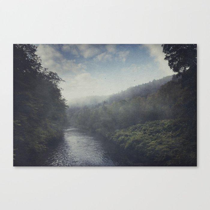 Wilderness in Mist Canvas Print