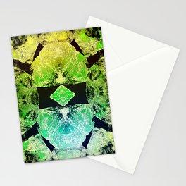 Green Mandala-Heart Chakra Stationery Cards