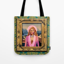 Queen B in the Louvre Tote Bag