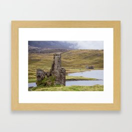 Lonely Castle Framed Art Print