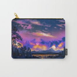 Night Sky Sunset Carry-All Pouch
