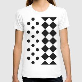 INTERIORS (BLACK-WHITE) T-shirt