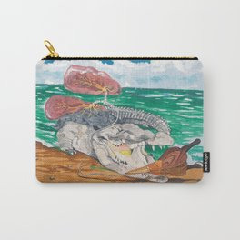 Crocodile emphisema Carry-All Pouch