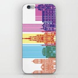 Medellin skyline pop iPhone Skin