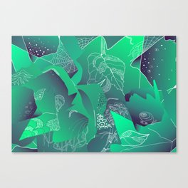 Viridian Canvas Print