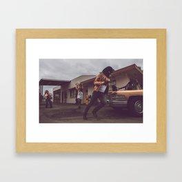 The Heist Part V Framed Art Print