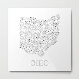 Ohio LineCity W Metal Print