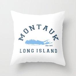 Montauk -Long Island. Throw Pillow