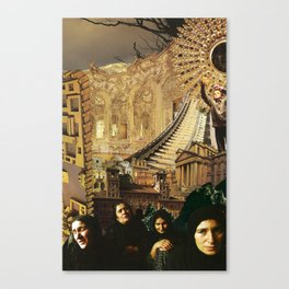 Widows in the City Canvas Print