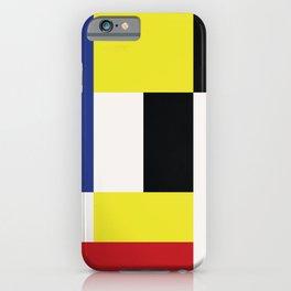 Minimal Squares IIII iPhone Case