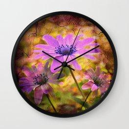 Vintage Nature  Wall Clock