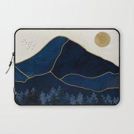Mt Hood Sapphire Blue Wilderness Laptop Sleeve