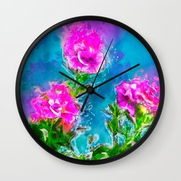 Florish Wall Clock