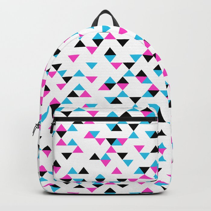 Electric Triangles Backpack