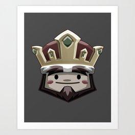 Chariot - King Art Print