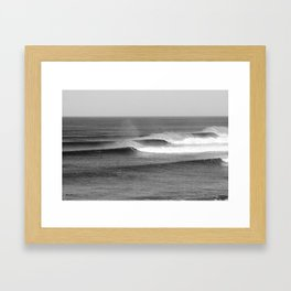 Bells Surf Surf Session Framed Art Print