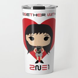 10GETHER WITH 2NE1 - Park Bom Chibi Travel Mug