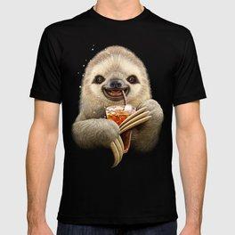 SLOTH & SOFT DRINK T-shirt