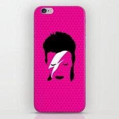 Ziggy Stardust - Pink iPhone & iPod Skin