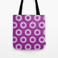 Abstract Stars Pattern Tote Bag