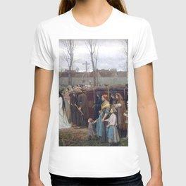 Jules Breton - Plantation d'un calvaire T-shirt