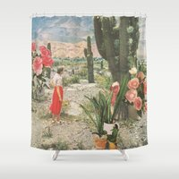 body Shower Curtains featuring Decor by Sarah Eisenlohr