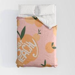 Just Peachy Comforters