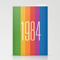 1984 Stationery Cards featuring 1984 (v) by Dan Rubin