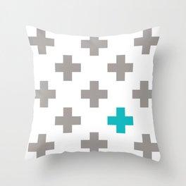 Crossed Throw Pillow