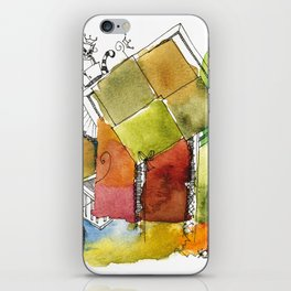 Abstract #2 iPhone Skin