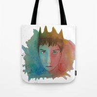 ben giles Tote Bags featuring Ben by unicorned