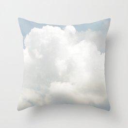 Beautiful Clouds V10 Throw Pillow