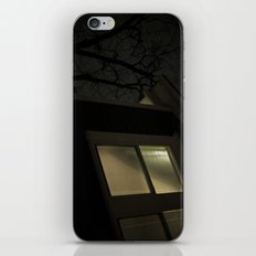 Night Window iPhone Skin