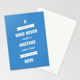 Never Tried Anything New Stationery Cards