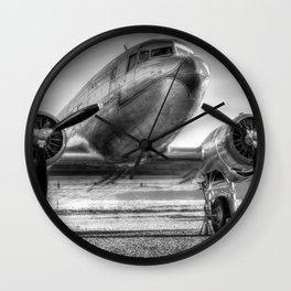 Malev Lisunov Li-2 Wall Clock