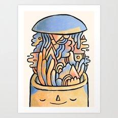 Mind Slime Art Print