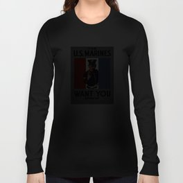 The U.S. Marines Want You Long Sleeve T-shirt
