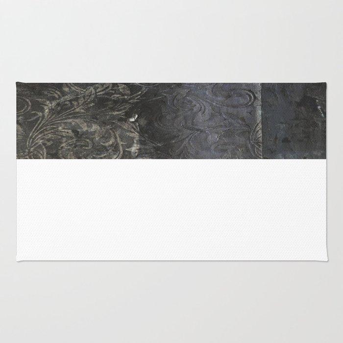 collage black Rug