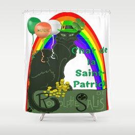Chat De La St Patrick De Rodolphe Salis Shower Curtain