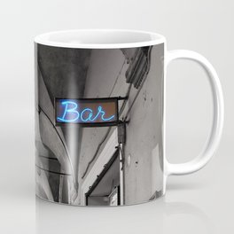 Black and white Bologna Street Photography Coffee Mug