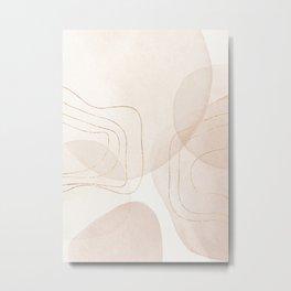 GRAPHIC 20805 PASTEL Metal Print