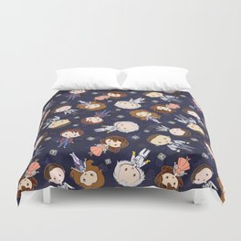 Back in Time: Lil' CutiEs Duvet Cover