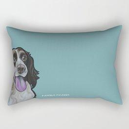 Bea the Springer Spaniel Rectangular Pillow