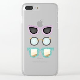 Sunnies Clear iPhone Case