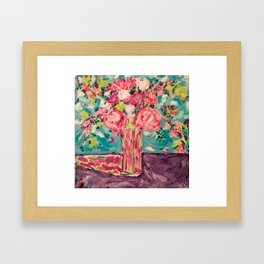 Meant to be flowers-1 Framed Art Print