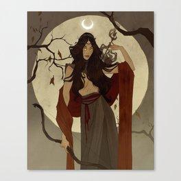 Hunter's Moon Canvas Print