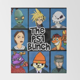 The PS1 Bunch Throw Blanket